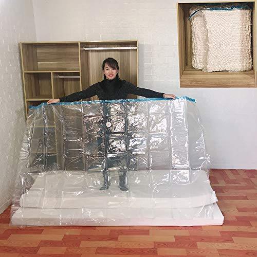Bqy Vakuumbeutel Aufbewahrungsbeutel Für Kleidung Bettdecken...