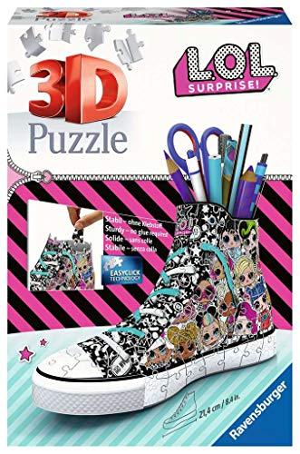 Ravensburger 3D Puzzle 11163 Sneaker L.O.L. Surprise! - Praktischer...