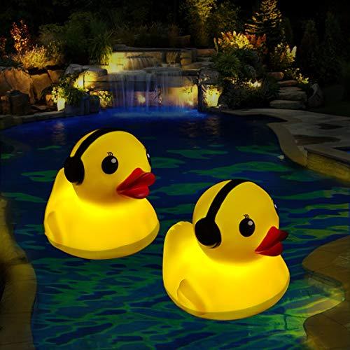 Cootway LED Badewanne Licht,Schwimmende Pool Lichter LED Spa Licht...