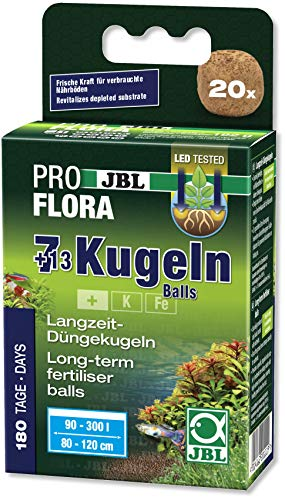 JBL Die 7 + 13 Kugeln 20111, Wurzeldünger für Süßwasser-Aquarien,...