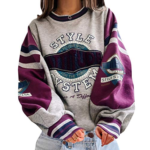 Onsoyours Sweatshirts Damen Lange Ärmel Pullover Winter Mit...