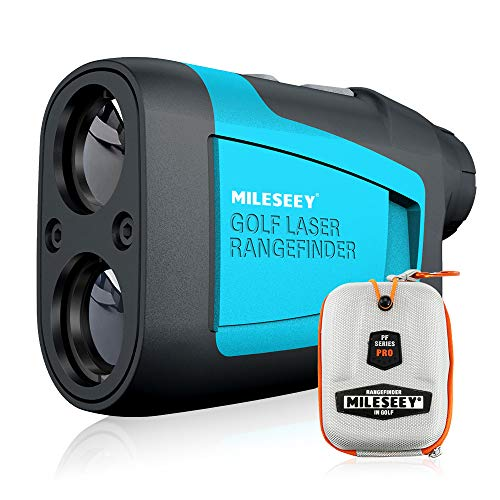 MiLESEEY Laser Golf Entfernungsmesser 600M mit Neigungsverstellung,...