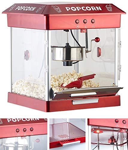 Rosenstein & Söhne Popcornmaschine Gastro:...