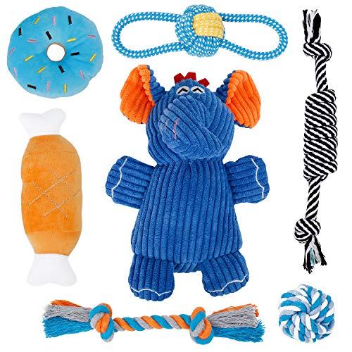 Toozey Welpenspielzeug Hunde Spielsachen - 7 STK Spielzeug Hund...