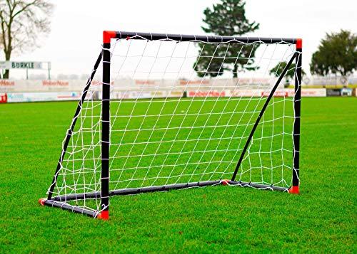 POWERSHOT Fußballtor Fun 1,8 x 1,2m aus wetterfestem uPVC Klicksystem...