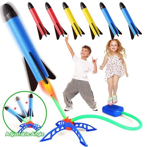 Rakete Spielzeug, Druckluftrakete, Raketentwerfer Outdoor Spiele für...