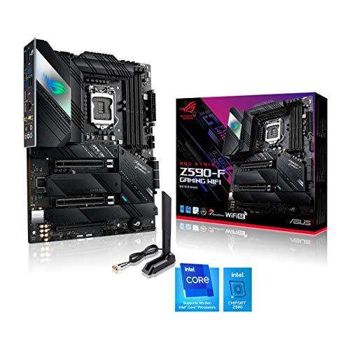 ASUS ROG Strix Z590-F Gaming WiFi Mainboard Sockel Intel LGA 1200...