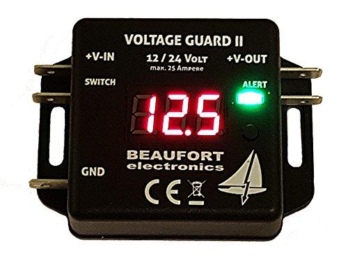 BEAUFORT electronics V-Guard II - Programmierbarer Batteriewächter...