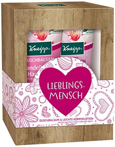 Kneipp Geschenkpackung Lieblingsmensch Mandelblüten Hautzart, 2 x...