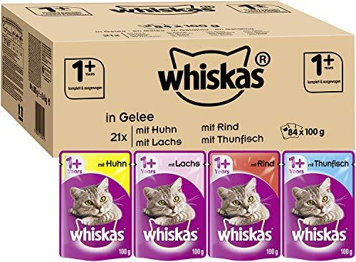 Whiskas 1 + Katzenfutter – Gemischte Auswahl in Gelee –...