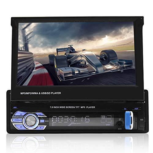 VBESTLIFE Bluetooth-Autoradio, 7In Car MP5 Video Player Einzelner...