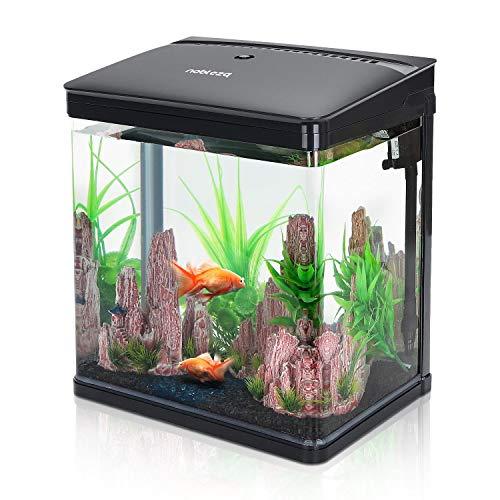 Nobleza-Nano-Fischtank-AquariummitLED-Leuchten&Filtersystem...