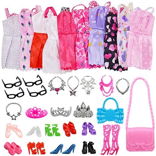 35 Kleidung Zubehör Schmuck Schuhe für 11,5 Zoll Mädchen Puppen +10...