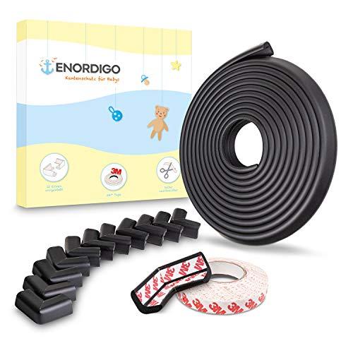 Weicher Kantenschutz Baby 6m + 12x Eckenschutz von ENORDIGO - BPA...