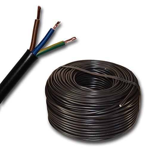 Kunststoff Schlauchleitung rund Kabel Leitung Gerätekabel H03VV-F...