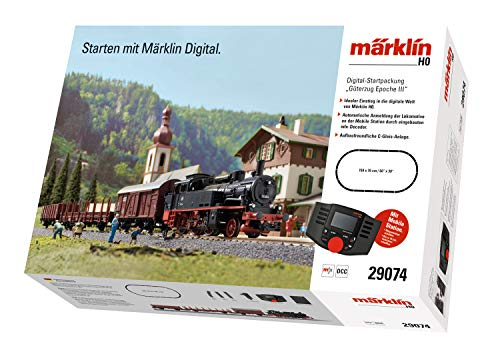 Märklin 29074 BR 74 Digital-Startpackung Güterzug Epoche 3, Spur H0...