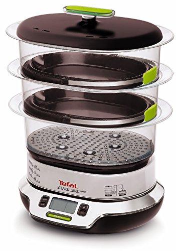 Tefal VS4003 Dampfgarer VitaCuisine Compact, ohne Mischen von...