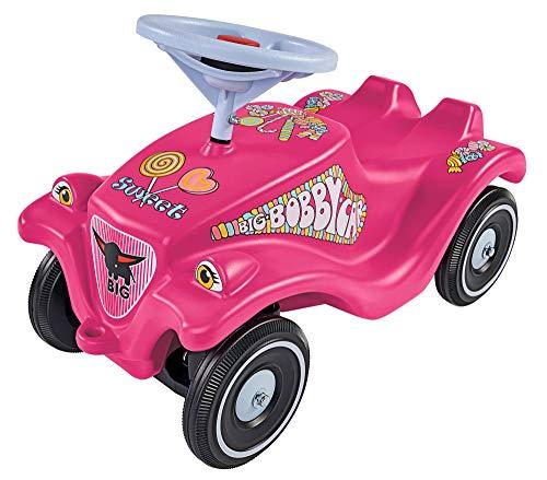 BIG-Bobby-Car-Classic Candy - Kinderfahrzeug mit Aufklebern in Candy...