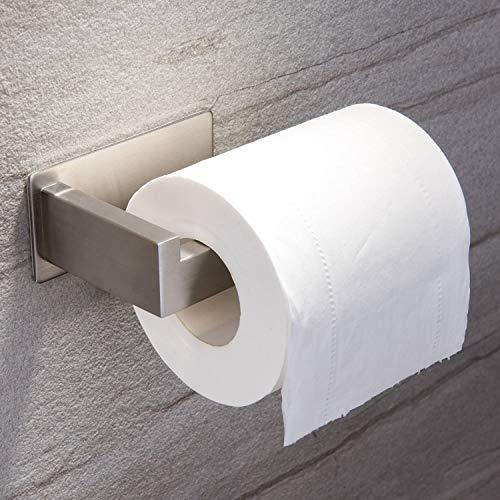 Ruicer Toilettenpapierhalter ohne bohren Klopapierhalter Selbstklebend...