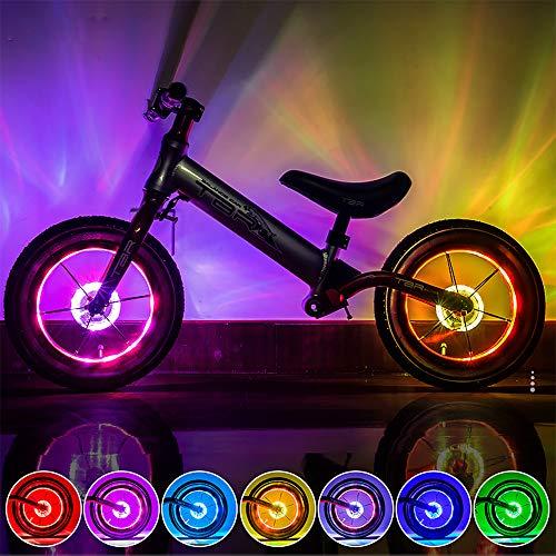 KUWAN LED Kinder Roller Licht Fahrradlicht USB Wiederaufladbar 7...