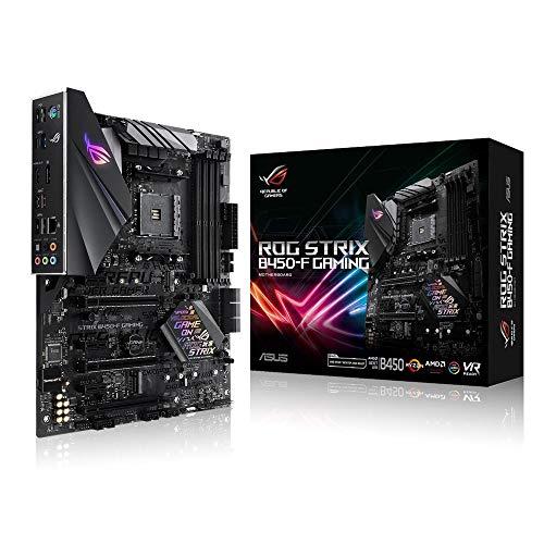 Asus ROG Strix B450-F Gaming Mainboard Sockel AM4 (ATX, AMD B450, DDR4...