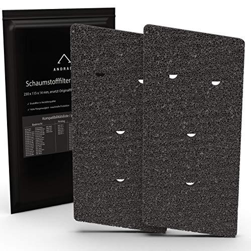 ANDRADO 2er-Set Bauknecht Trockner Filter HX 481010716911 I Filter...