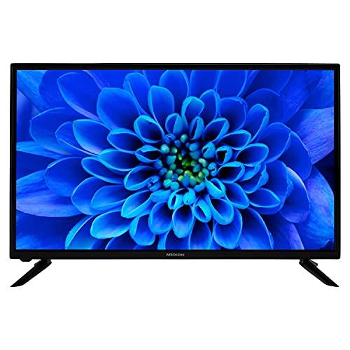 MEDION E13282 80 cm (31,5 Zoll) HD Fernseher (HD Triple Tuner, DVB-T2...