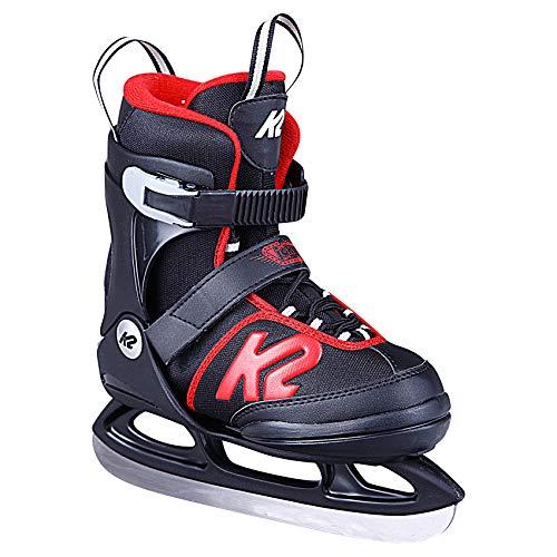 K2 Skates Jungen Schlittschuhe Joker Ice — black - red — EU: 35 -...