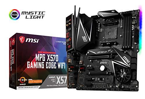 MSI Mpg X570 Gaming Edge WiFi AMD AM4 DDR4 m.2 USB 3.2 Gen 2 HDMI ATX...