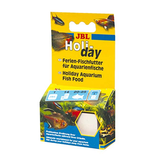 JBL Holiday 40310, Ferien-Alleinfutter für alle Aquarienfische,...