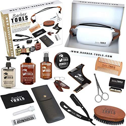 ✮ BARBER TOOLS ✮ Kit / Bartpflege set/ Bart-set / Bart und Rasur |...