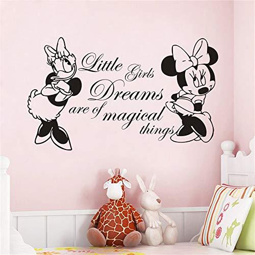 Minnie Mouse Wandtattoo Disney Minnie Mouse Mit Daisy Fototapete...