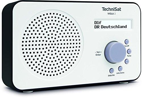 TechniSat VIOLA 2 tragbares DAB Radio (DAB+, UKW, Lautsprecher,...