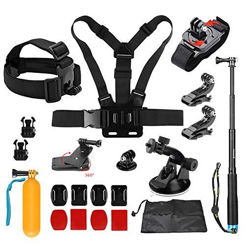 D&F Outdoor-Sport-Kamera-Zubehör-Kit für GoPro Hero 6/5/4 / Hero...