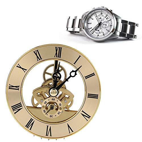 Reparatur-Uhren Zubehör Tischuhr Metall mit Quarzuhr 86 mm mit...