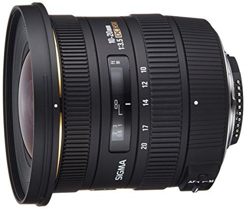 Sigma 10-20 mm F3,5 EX DC HSM-Objektiv (82 mm Filtergewinde, für...