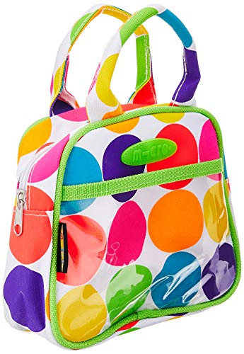 Micromicro Mobile Handtasche mit Punkten, Neonfarben