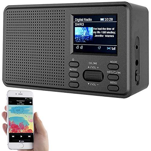 VR-Radio DAB Radios: Mobiles Digitalradio mit DAB+ und UKW,...