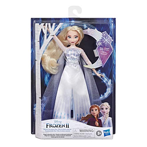 Disney Hasbro E8880XG0 Eiskönigin Traummelodie ELSA singende Puppe,...