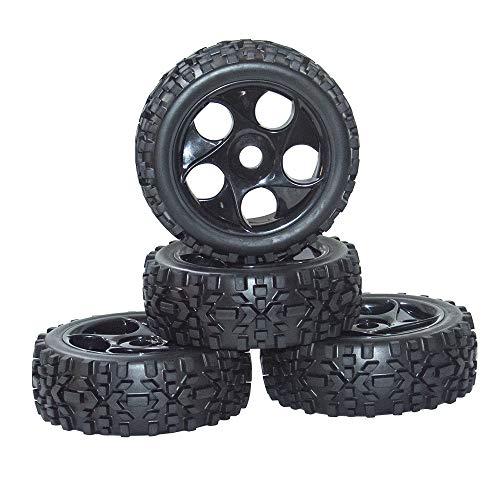 WEIZEU RC-Reifen 1/8, 17 mm, 4 Stück, RC On Road Buggy-Reifen für...