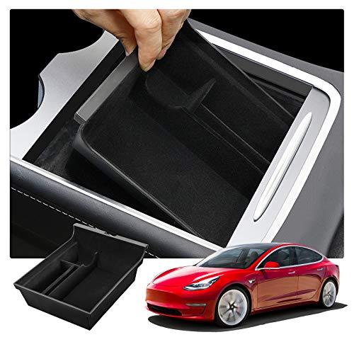RUIYA Tesla Model 3 2021+ Armlehne Aufbewahrungsbox Mittelkonsole...