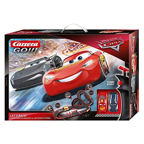 Carrera 20062475 GO!!! Disney Pixar Cars Let's Race Rennstrecken-Set  ...