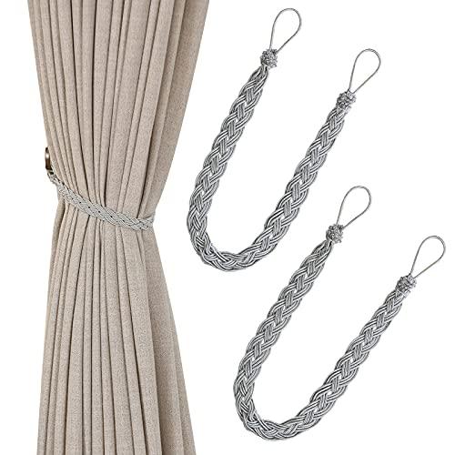 Handgestrickte Vorhang-Raffhalter, einfacher Vorhanghalter und...