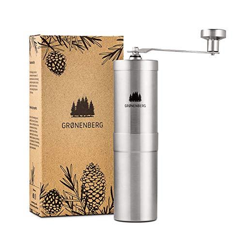 Groenenberg Kaffeemühle manuell mit Kegelmahlwerk | Kaffeemühle Hand...