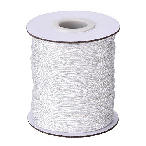 1,0 mm Weiß Geflochtene Lift Shade Cord Zugschnur für Jalousien...
