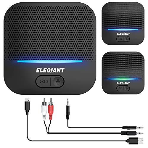 ELEGIANT Bluetooth Empfänger 5.0 Adapter Audio Receiver...