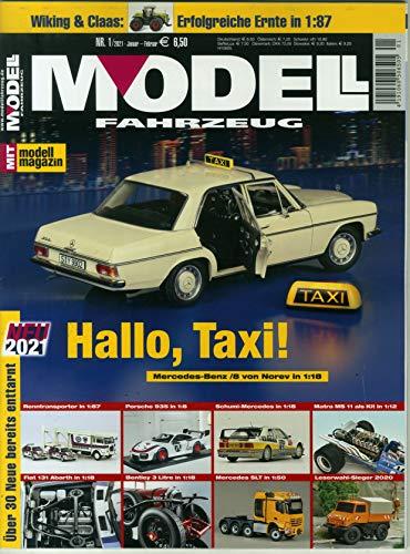 Modell Fahrzeug 1/2021 'Hallo, Taxi !'