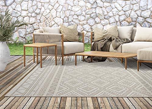 the carpet Calgary In- & Outdoor Teppich Flachgewebe, Modernes Design,...