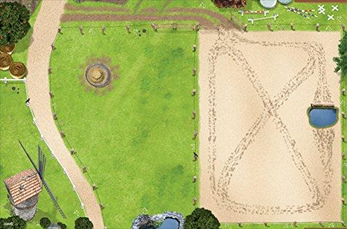 Pferdekoppel Spielmatte (ähnlich Spielteppich) | SM09 | Hochwertige...
