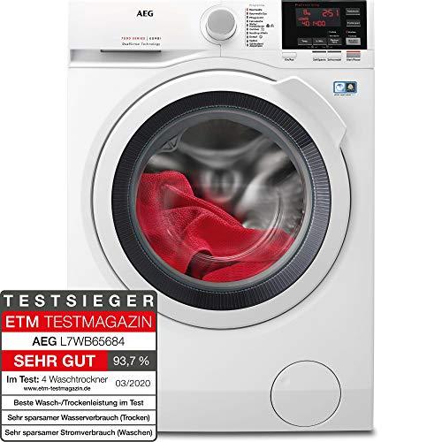 AEG L7WB65684 Waschtrockner / DualSense - schonende Pflege / 8,0 kg...